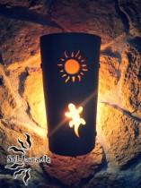Sonne-Gecko-Leuchte