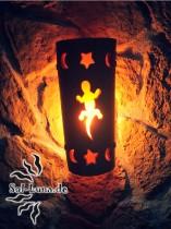 Gecko-Leuchte